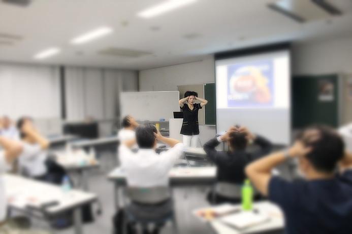 東京ヘッドマッサージ専門店 一休のひらめき 円山カヲリ 千代田区講座2