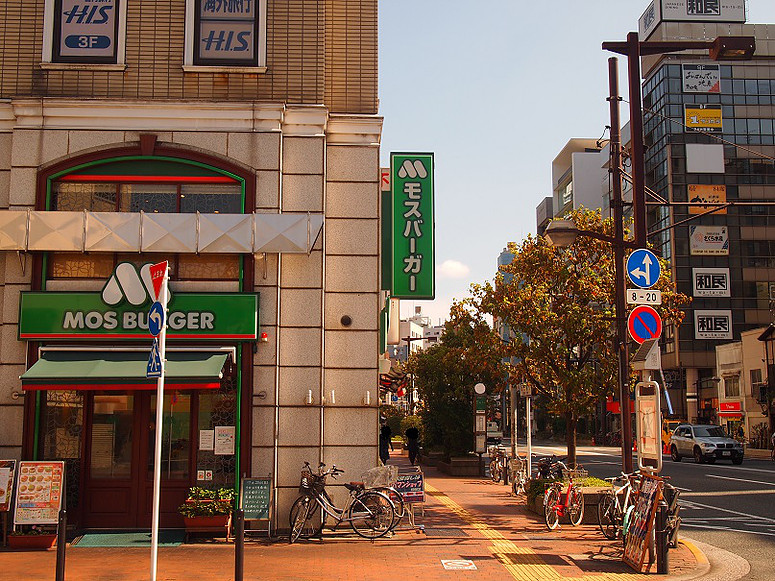 【4】一休のひらめき飯田橋東口モスバーガー前